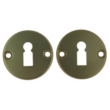 Keyhole escutcheon D50 F4+screws (E)